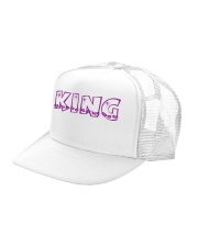 King Trucker Hat left-angle