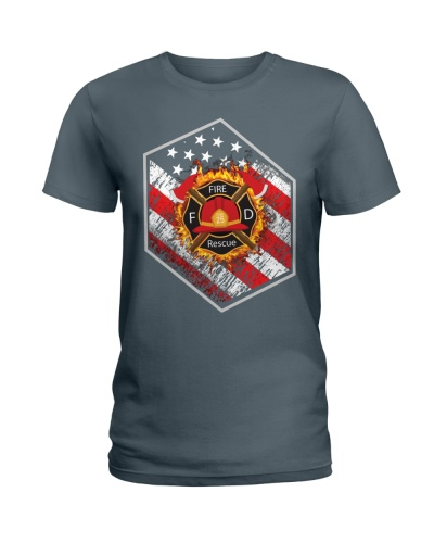 Proud To Be American Firefighter
