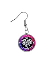 MOM YOU ARE THE HEART OF OUR FAMILY Circle Earrings thumbnail