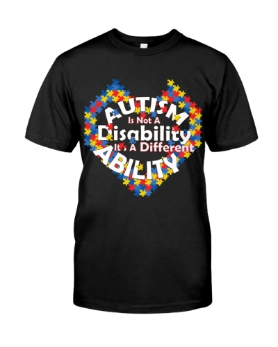 Autism Is Not A Disability It's ADifferent Ability