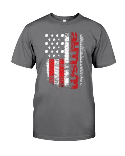 Autism Flag Shirt-Autism Awareness Shirts Autism U