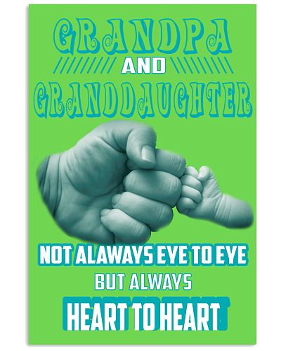 Grandpa And Granddaughter Not Always eye to eye