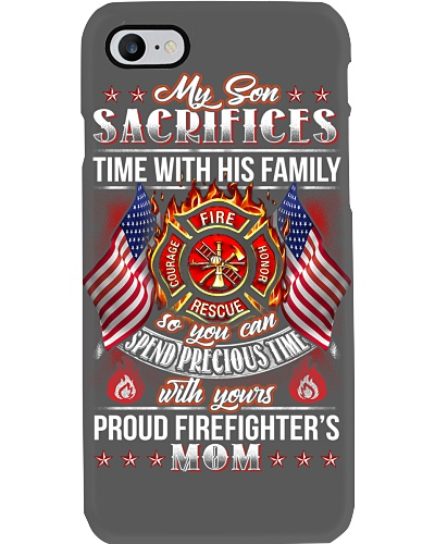 FIREFIGHTER PROUD MOM