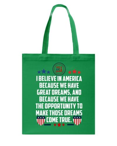 I believe in America