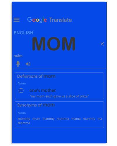 Mom In Google Translate