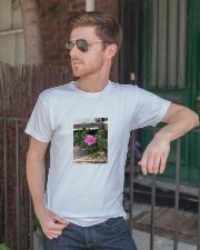 flower Classic T-Shirt lifestyle-mens-crewneck-front-2