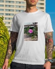 flower Classic T-Shirt lifestyle-mens-crewneck-front-8