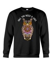Owl you need is love Crewneck Sweatshirt thumbnail