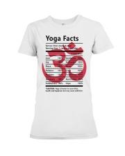 Yoga fact Premium Fit Ladies Tee thumbnail