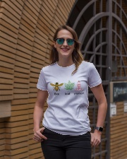 Believe yourself Ladies T-Shirt lifestyle-women-crewneck-front-2