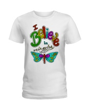 I believe in miracle Ladies T-Shirt front