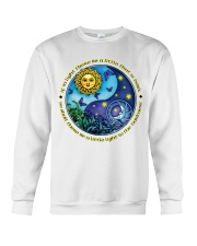 If in light there be a little that is dark  Crewneck Sweatshirt thumbnail
