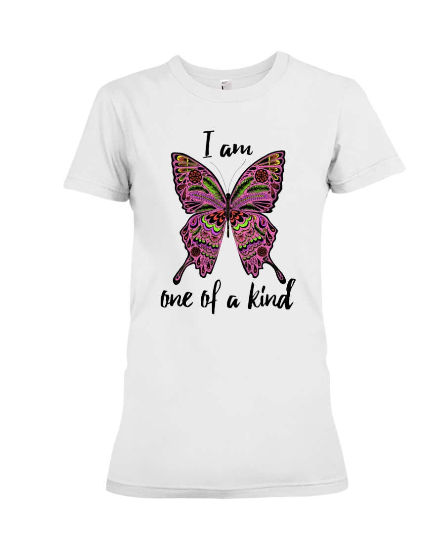 I am one of a kind Premium Fit Ladies Tee