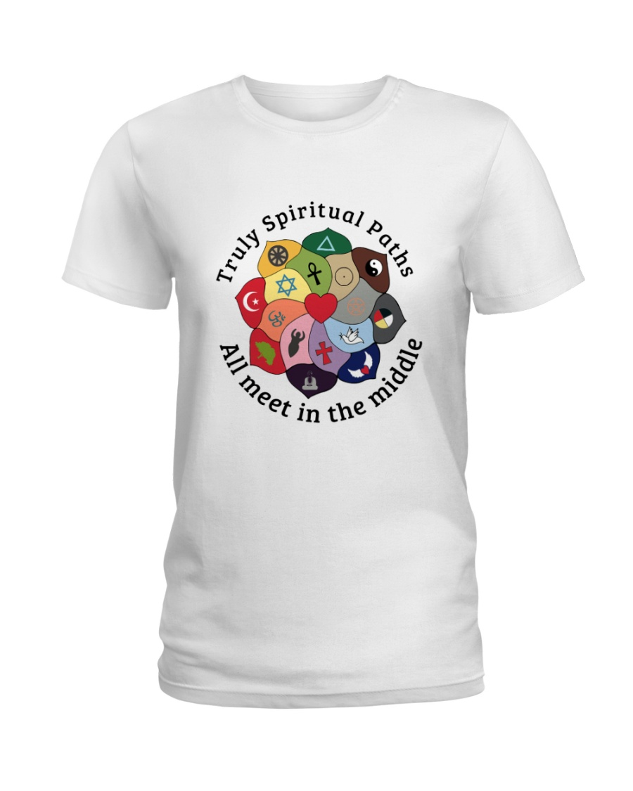 Truly Spiritual Paths Ladies T-Shirt