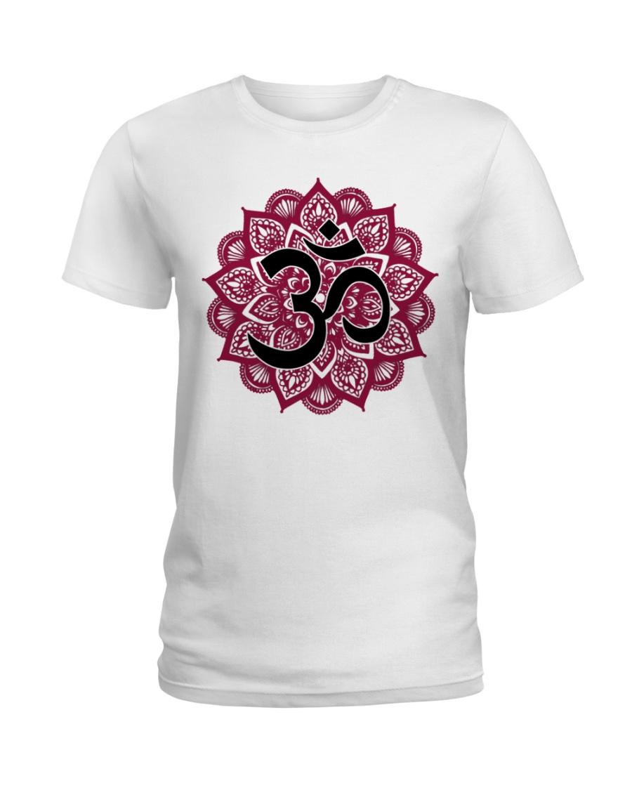 Mandala om Ladies T-Shirt