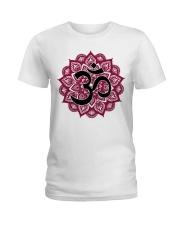Mandala om Ladies T-Shirt front