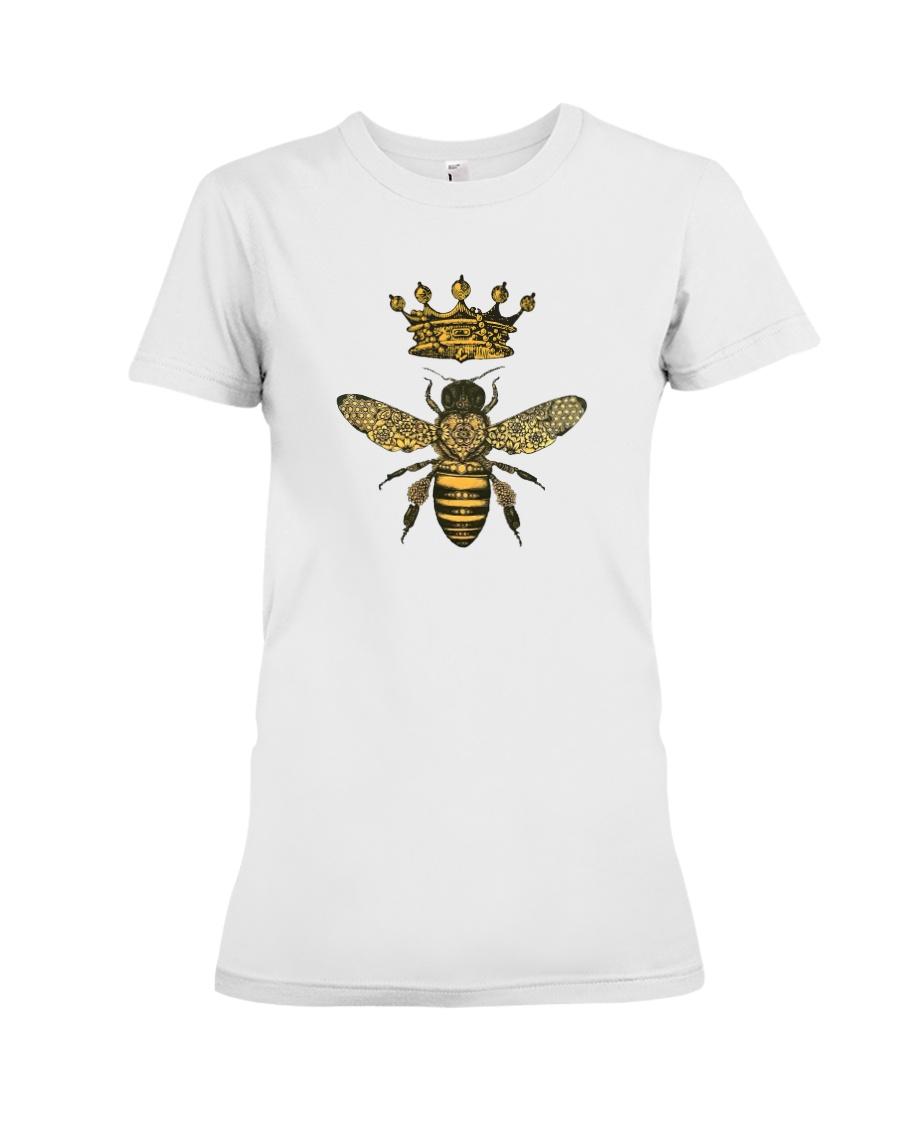 Queen bee Premium Fit Ladies Tee