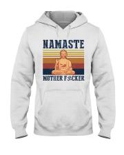 Namaste mother F Hooded Sweatshirt thumbnail