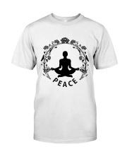 Yoga peace Classic T-Shirt thumbnail