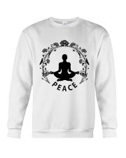 Yoga peace Crewneck Sweatshirt thumbnail