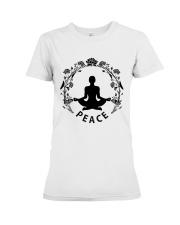 Yoga peace Premium Fit Ladies Tee thumbnail