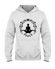 Yoga peace Hooded Sweatshirt thumbnail