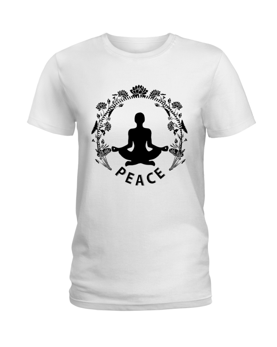 Yoga peace Ladies T-Shirt