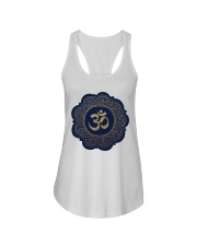 Om Ladies Flowy Tank tile