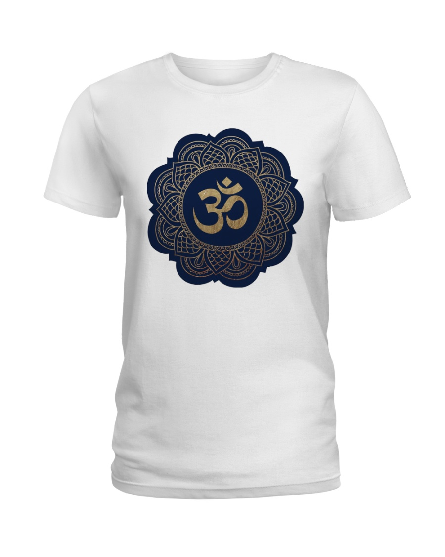 Om Ladies T-Shirt