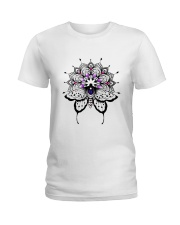 Butterfly Mandala Ladies T-Shirt front