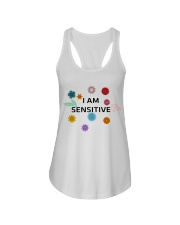 I am sensitive Ladies Flowy Tank thumbnail