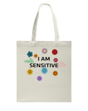 I am sensitive Tote Bag thumbnail