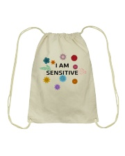 I am sensitive Drawstring Bag thumbnail