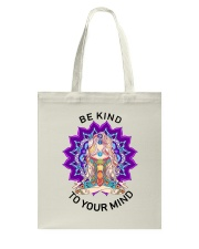 Be kind to your mind Tote Bag thumbnail