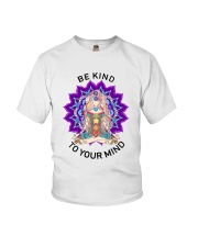Be kind to your mind Youth T-Shirt thumbnail
