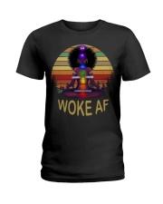 Woke af Ladies T-Shirt front
