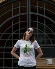Plant smiles grow laughter harvest love Ladies T-Shirt lifestyle-women-crewneck-front-1