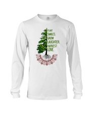 Plant smiles grow laughter harvest love Long Sleeve Tee thumbnail