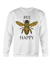 Bee happy Crewneck Sweatshirt tile