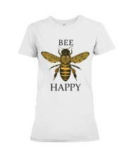 Bee happy Premium Fit Ladies Tee tile