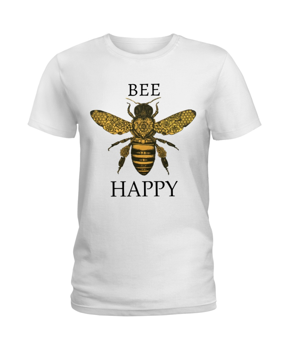 Bee happy Ladies T-Shirt
