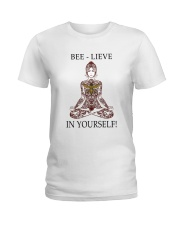 Believe in your self Ladies T-Shirt front