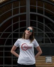 Enjoy karma Ladies T-Shirt lifestyle-women-crewneck-front-1