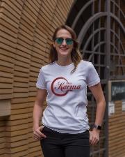 Enjoy karma Ladies T-Shirt lifestyle-women-crewneck-front-2