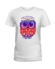 Every little thing is gonna be alright Ladies T-Shirt front
