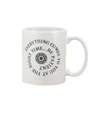 Everything comes to you at the right time Mug thumbnail