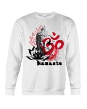 Namaste buddha Crewneck Sweatshirt thumbnail