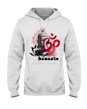 Namaste buddha Hooded Sweatshirt thumbnail