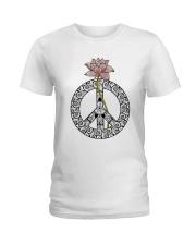 Peace Lotus Ladies T-Shirt front