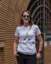 Namaste Ladies T-Shirt lifestyle-women-crewneck-front-2